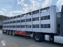 Semi reboque transporte de animais Lecitrailer 3E20 Tier- Viehtransport 3 Achse 3 Stock