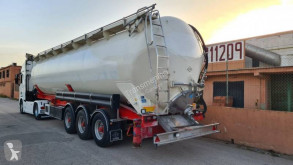 Feldbinder semi-trailer used powder tanker