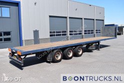 Fruehauf flatbed semi-trailer T34CGN1NL | STEEL SUSPENSION * HARDWOOD FLOOR * APK 11-2021