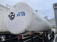 Semiremorca Magyar cisternă transport alimente accidentată