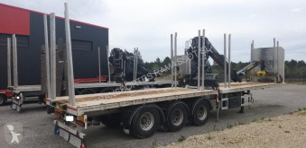 Pacton timber semi-trailer FORESTIER AVEC GRUE KESLA 2109