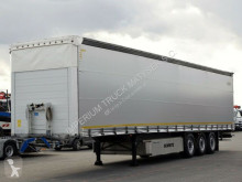 Schmitz Cargobull tarp semi-trailer CURTAINSIDER /STANDARD / LIFTED AXLE/ PALLET BOX