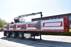 Flatbed semi-trailer STEENTRAILER - 1 LIFTAS - 2 x STUURAS - KENNIS 14 R JOYSTICK - WABCO SMARTBOARD -