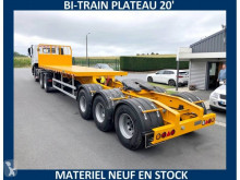 Trailer Sodexim BI-TRAIN PLATEAU 20' NEUF nieuw containersysteem