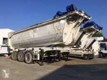Vendée Carrosserie V.Rounder BENNE RONDE semi-trailer damaged construction dump