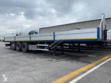 Zorzi flatbed semi-trailer Cassonato con buca coils e sedi per piantane