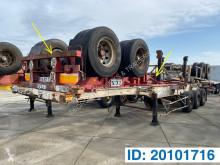Fruehauf container semi-trailer Skelet 20ft