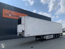 Chereau mono temperature refrigerated semi-trailer TOP, Carrier Vector 1550, FRC:09-2023, SAF +Intradisc