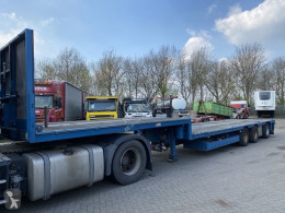 HRD heavy equipment transport semi-trailer *NO PAPERS* 6 METER EXTANDABLE - STEERING AXLE + REMOTE