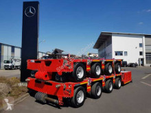 Goldhofer heavy equipment transport semi-trailer THP/SL 4 4-Achs-Schwerlastmodul