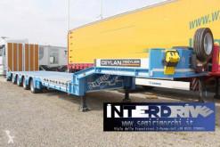 Ceylan Treyler carrellone 4assi buche rampe doppie nuovo semi-trailer new heavy equipment transport