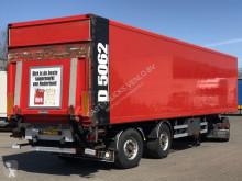 Samro box semi-trailer GESLOTEN TRAILER / STUURAS / LAADKLEP / APK