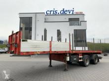 Doll Vario P2H verlängerbar, gelenkte Achsen semi-trailer used flatbed