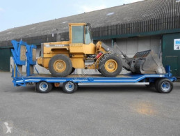 Heavy equipment transport trailer - VERKOCHT/SOLD
