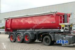 Semi remorque benne Langendorf SKS-HS 24/30, Stahl, 26m³, BPW-Achsen, Rollplane