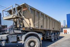 Benalu BENNE ALU - 3xBLAD/LAMES/spring semi-trailer used tipper