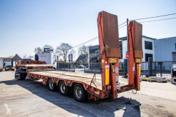 ACTM heavy equipment transport semi-trailer PORTE ENGIN+DOUBLE RAMPES+LAMES
