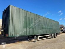 Semi remorque Montenegro furgon para ropa fourgon porte vêtements occasion