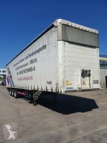 Полуремарке Schmitz Cargobull SCS 24 MEGA Tautliner Lifta. Hubdach verbr.3.5 m шпригли и брезент втора употреба