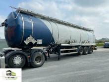 Sættevogn Feldbinder 3-achs Chemietank/L4BH/53 cbm / 3 Kammer/V4A citerne kemiske produkter brugt