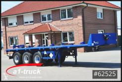 Flatbed semi-trailer ESB 10-24L, Flüssigaluminium, Plattform, Lenkachse,