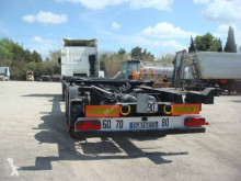 Trailer Fruehauf PORTE CONTAINER EXTENSIBKLE ADR 20 30 40 45 PIEDS 3 ESSIEUX SMB SUSPENSIONS AIR FREINS DISQUES 2008 tweedehands containersysteem