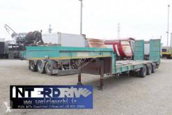 Cometto heavy equipment transport semi-trailer carrellone mezzo d'opera verricello rampe doppie