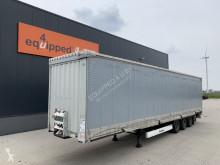 Semirremolque furgón Krone Mega, schnelle Planenverschlüsse (EASY TARP), speziale XL-Planen, BPW+Scheibebremsen