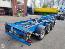 Sættevogn Van Hool 3B2018 - 3 assen SAF - Schijfremmen - Alle soorten Containers! (O572) containervogn brugt