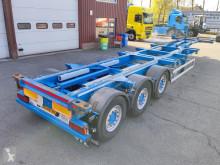 Naczepa Renders ROC12.27 CC 3-Assen SAF - Schijfremmen - Lift-as - 01/2022 APK (O582) do transportu kontenerów używana