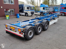 Trailer Schmitz Cargobull SGF*S3 - 3 assen SAF - Discbrakes - LiftAxle - Alle sorts off Containers (O573) tweedehands containersysteem
