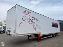 Полуремарке фургон превоз на дрехи Talson F 1227 3-assen BPW - trommelremmen - Confectie wanden - kledingstangen - Standaard schotelhoogte (O594)