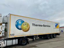 Schmitz Cargobull refrigerated semi-trailer Koffer Isoliert Thermo King Heizung Doppelstock