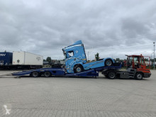 Car carrier semi-trailer TRUCK (2X) + MACHINE TRANSPORTER, TOPZUSTAND!