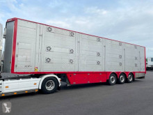Pezzaioli 3 étages - Palettisable semi-trailer used livestock trailer