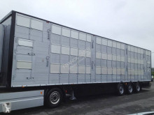 Pezzaioli 3 étages indépendants semi-trailer used livestock trailer