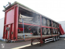 Naczepa firanka Metaco Stack of 5 different trailers , , drum brakes