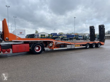 STL 48, Semi-Low loader, Hydraulische Brug/Plateau semi-trailer used heavy equipment transport