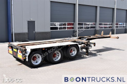 Semi remorque Floor FLCU0 12 27A | 2x20-30-40-45ft * LIFT AXLE * 2 x EXTENDABLE porte containers occasion