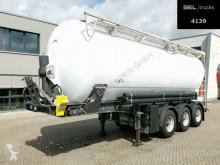 Semirremolque Spitzer BSK2738CAL1 / Kippsilo / 38.000 l / Alu-Felgen cisterna gránulos / polvo usado