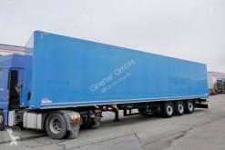 Schmitz Cargobull SKO SKO 24/DOPPELSTOCK / TÜREN / LASI semi-trailer used double deck box