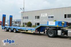 Alpsan heavy equipment transport semi-trailer Alpsan UMT3, 3-Achser, Rampen, verbreiterbar