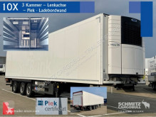 Semirremolque Schmitz Cargobull Tiefkühler Multitemp Ladebordwand isotérmica usado