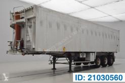 Benalu 58 cub in alu semi-trailer used tipper