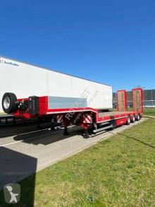 Semi remorque porte engins Lecitrailer Renforcé 3 essieux 1 auto-suiveur neuve DISPO PARC