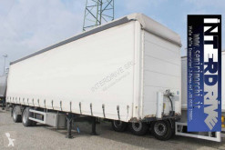 System Trailers semirimorchio centinato 10 m 2 assi city usato semi-trailer used heavy equipment transport