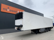 Semi remorque Pacton Carrier Vector 1800 D/E (silent), steering axle, taillift, good tires, NL-trailer, new APK frigo mono température occasion