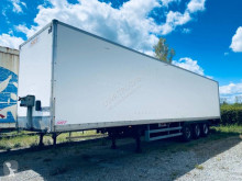Trouillet semi-trailer used plywood box