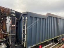 Kaiser semi-trailer damaged scrap dumper