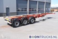 Yarı römork konteyner taşıyıcı Schmitz Cargobull SCF 24 G LX | 2x20-30-40ft HC * DISC BRAKES * LIFT AXLE